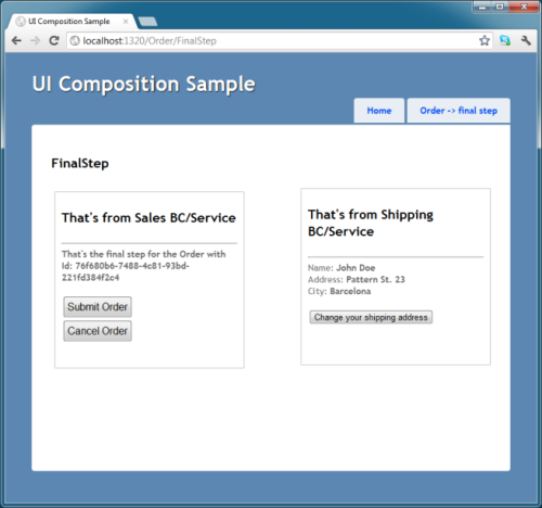 Ecommerce composition